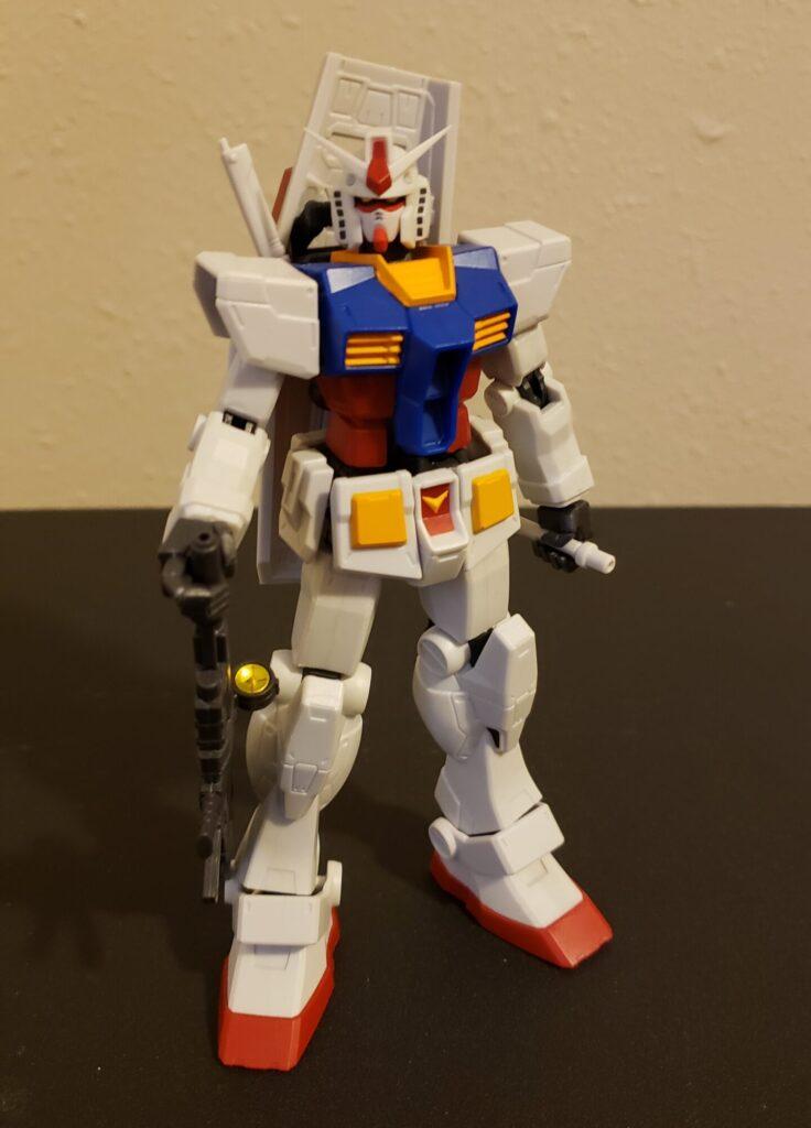 The Gundam Universe RX-78-2 in a neutral stance.